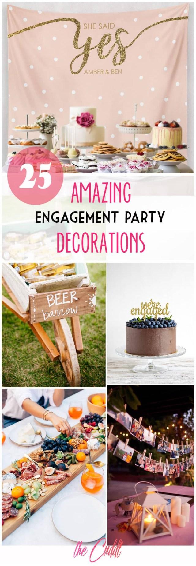 Rustic Engagement Party Ideas 25 Amazing Diy Engagement Party Decoration Ideas For 2019