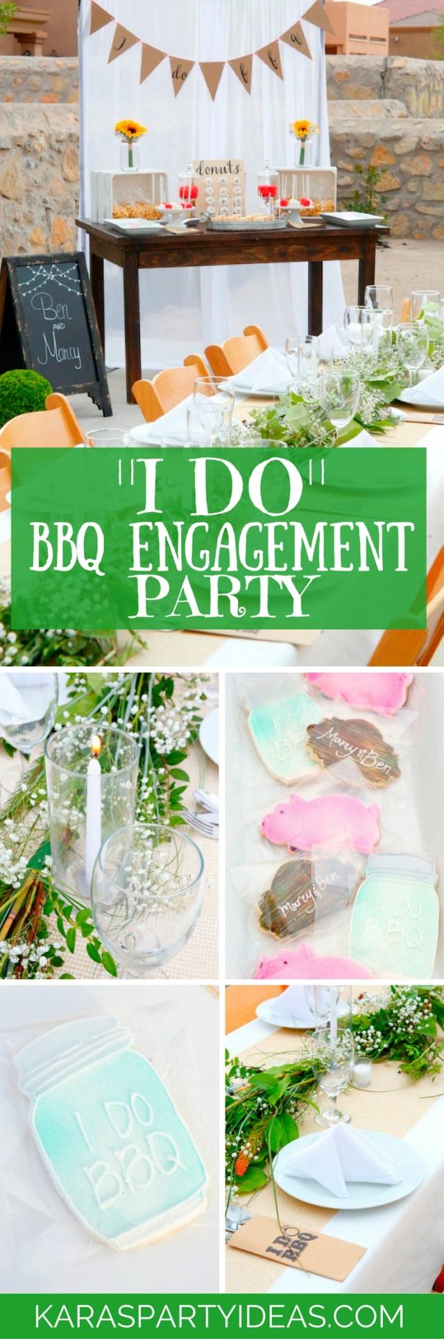 Rustic Engagement Party Ideas Karas Party Ideas I Do Bbq Engagement Party Karas Party Ideas