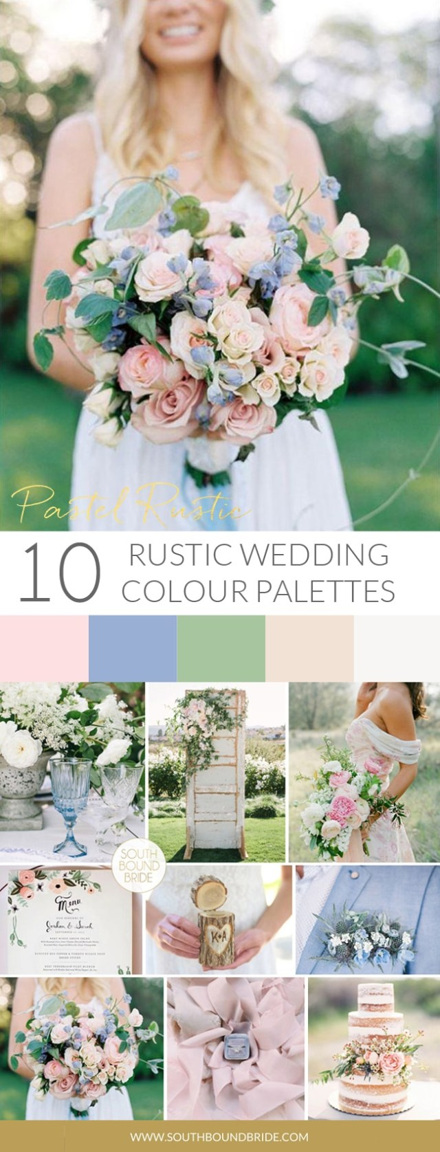 Rustic Wedding Colors 10 Rustic Wedding Color Palettes Southbound Bride