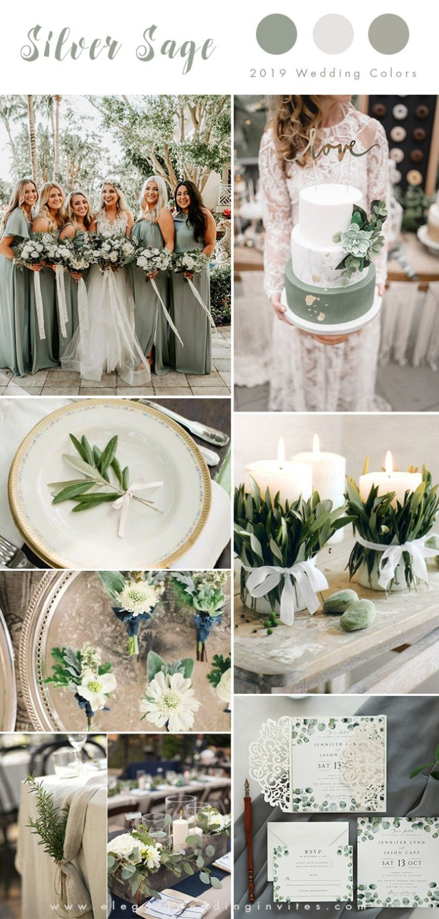Rustic Wedding Colors Top 10 Wedding Color Trends We Expect To See In 2019 Parte One