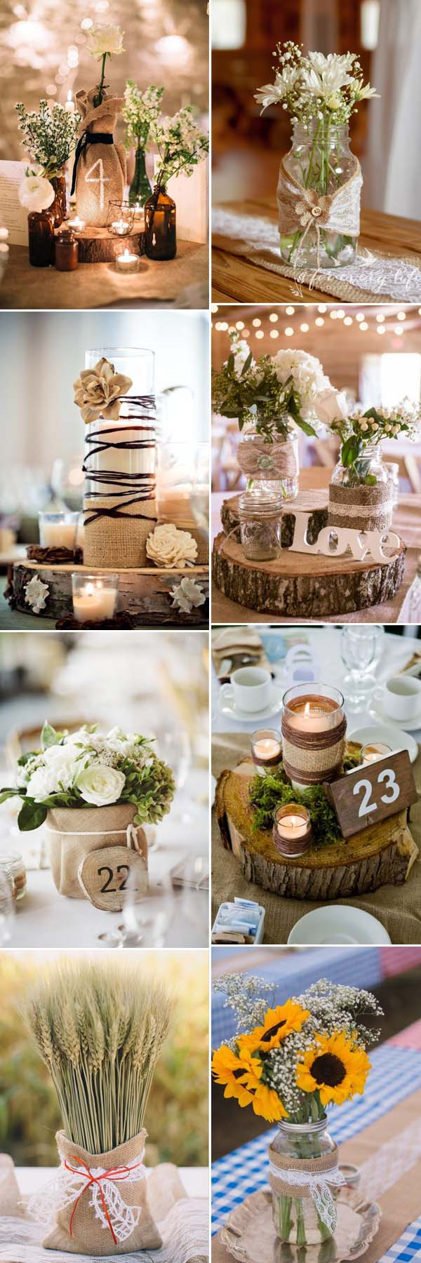 Rustic Wedding Diy The Most Complete Burlap Rustic Wedding Ideas For Your Inspiration