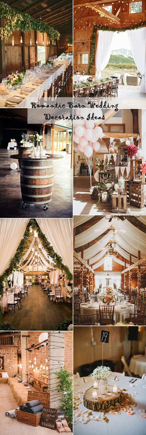 Rustic Wedding Ideas 25 Sweet And Romantic Rustic Barn Wedding Decoration Ideas