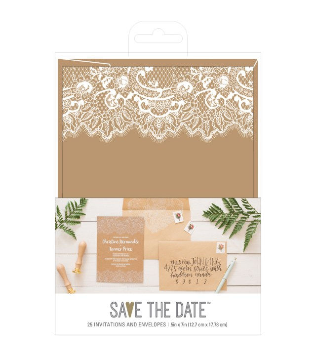 Rustic Wedding Invitation American Crafts Rustic Wedding Invites Envelopes Joann