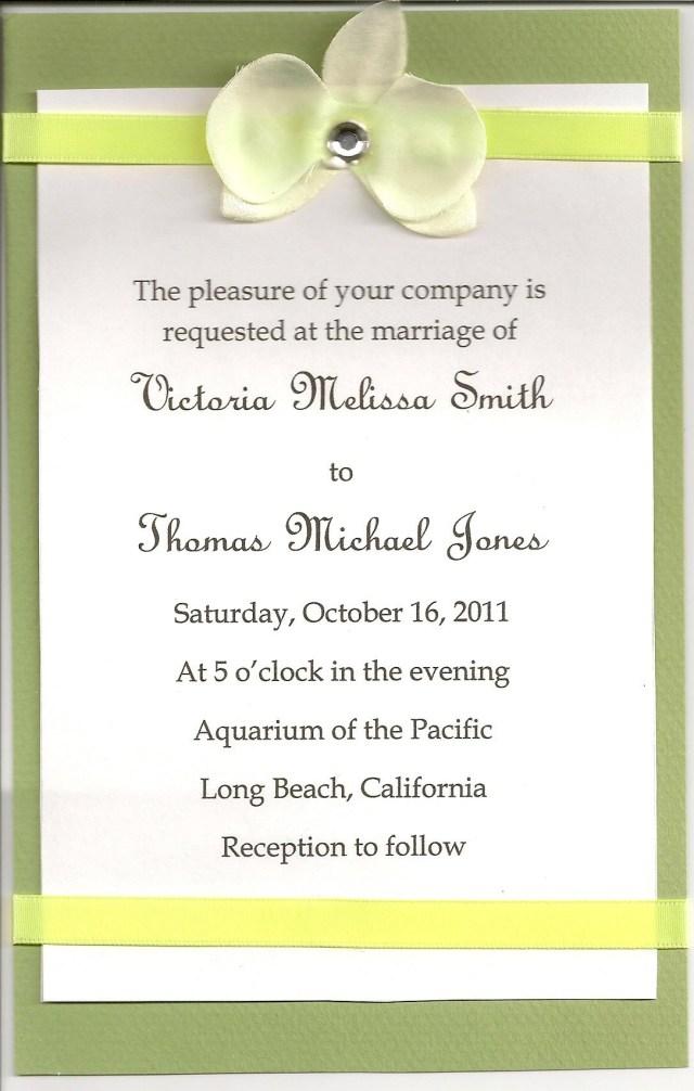 Sample Wedding Invitation Diy Wedding Invitations Simple Wedding Invitations Using Microsoft Word