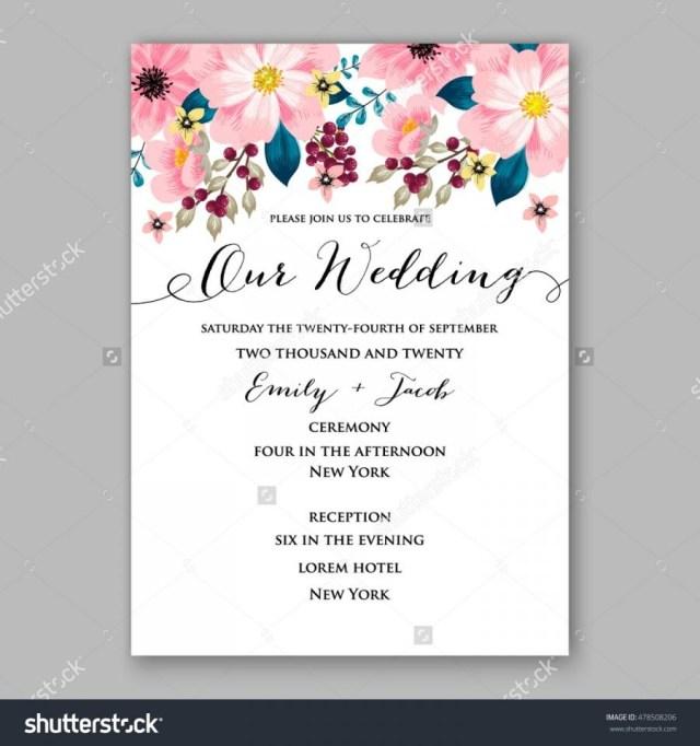 Sample Wedding Invitation Poinsettia Wedding Invitation Sample Card Beautiful Winter Floral
