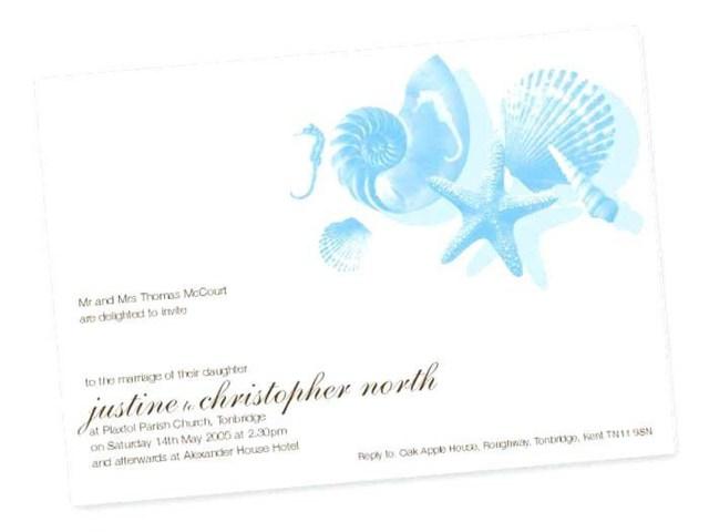 Seashell Wedding Invitations 206458 Seashell Wedding Invitations Seashell Wedding Invitations New