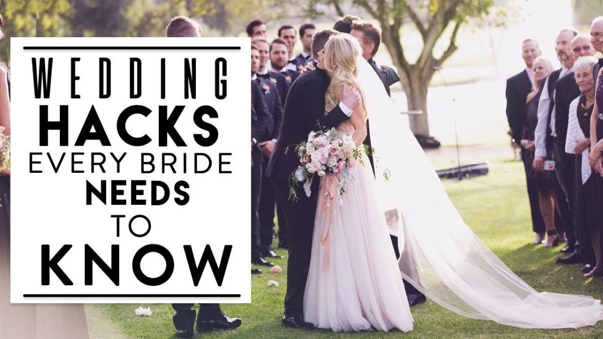Sharrah Robeson Wedding Watch This Before You Plan Your Wedding Hacks Every Bride Needs