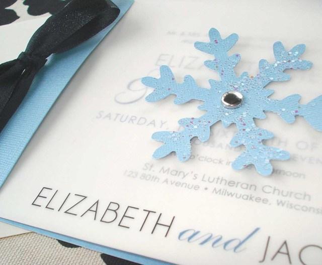 Snowflake Themed Wedding Invitations Winter Themed Wedding Invitations Fresh Lacy Snowflake Winter