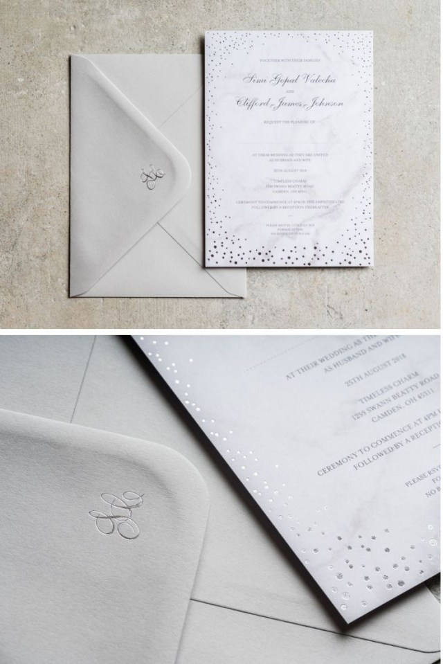 Sparkle Wedding Invitations Foil Wedding Invitations Sparkle In 2018 Wedding Pinterest