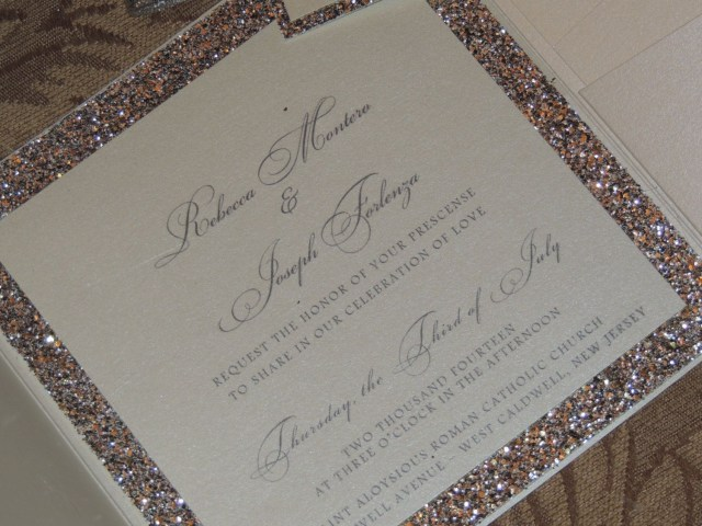 Sparkle Wedding Invitations Glitter Wedding Invitation Sparkle Wedding Magicbeyondmidnight