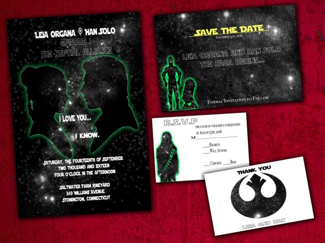 Star Wars Wedding Invitations Charming Star Wars Wedding Invitations To Create Your Own Alluring