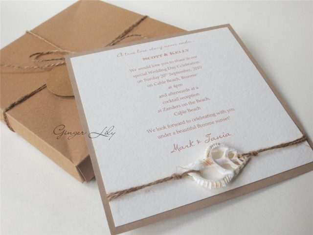 Starfish Wedding Invitations Beach Wedding Invitation Sets Beach Wedding Invitation Sets Cheap