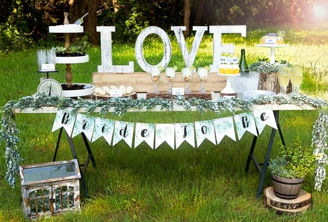 Succulent Wedding Decorations Rustic Wedding Shower Succulent Wedding Shower Let Your Love