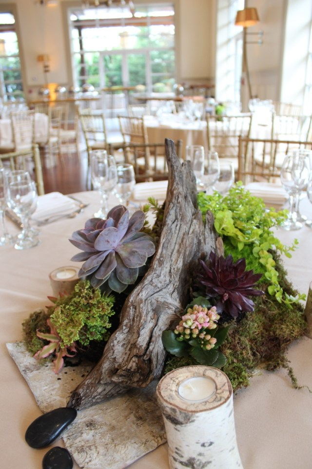 Succulent Wedding Decorations Succulent Wedding Decor At The Stone House At Stirling Ridge