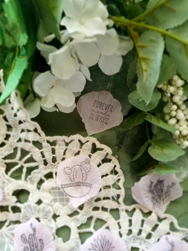 Succulent Wedding Decorations Succulent Wedding Decorsucculent Party Supplies Cactus Party Etsy