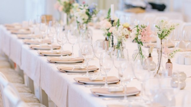 Table Wedding Decor 5 Ideas For Wedding Reception Table Decorations Crystal Ballroom