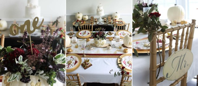 Tablescapes Ideas Wedding Fall Wedding Tablescape Fun365