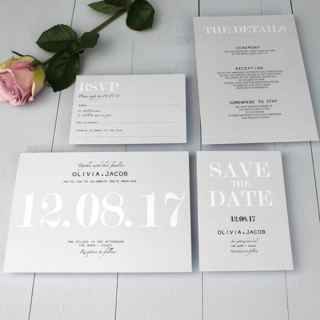 Traditional Wedding Invitation Modern Traditional Wedding Invitation Beija Flor Studio