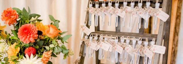 Unusual Wedding Ideas This Unusual Wedding Table Plan Was Created Using Test Tubes