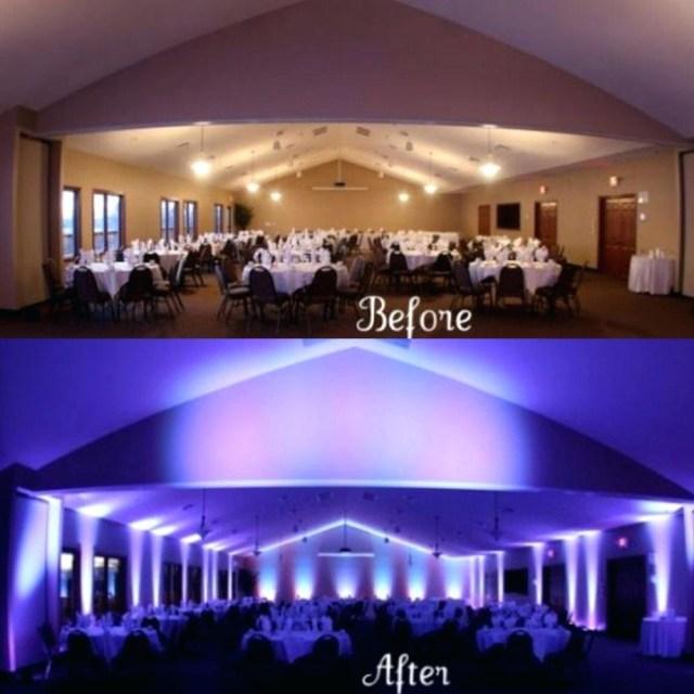 Uplighting Wedding Diy Wedding Up Lighting Ultimatewow Forums