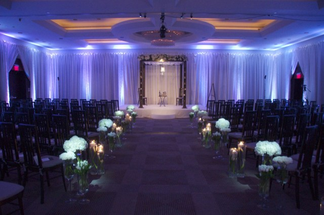 Uplighting Wedding Diy White Uplighting At The Park Hyatt Washington Dc Wedding Ceremony