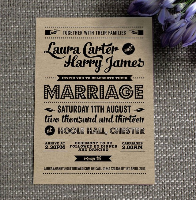 Vintage Wedding Invitations 20 Creative And Unique Vintage Wedding Invitations 21st Bridal