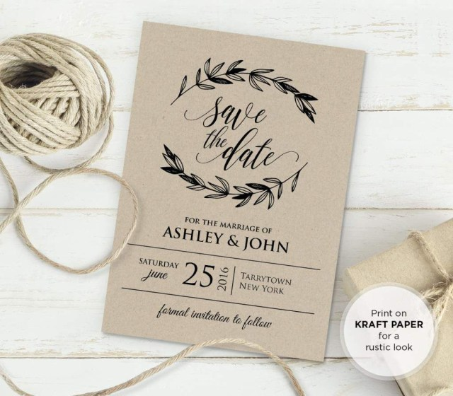 Vintage Wedding Invitations Free Rustic Vintage Wedding Invitation Templates Bridal Wedding