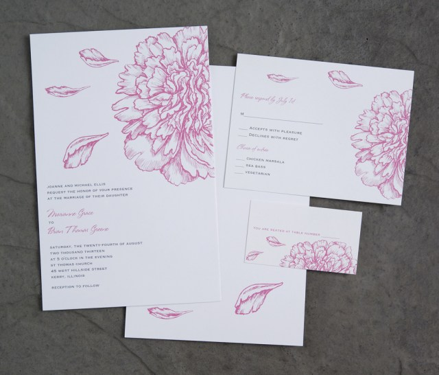 Vistaprint Wedding Invitations Vistaprint Wedding Invitation Pink Flowers 2 Vistaprint Flickr