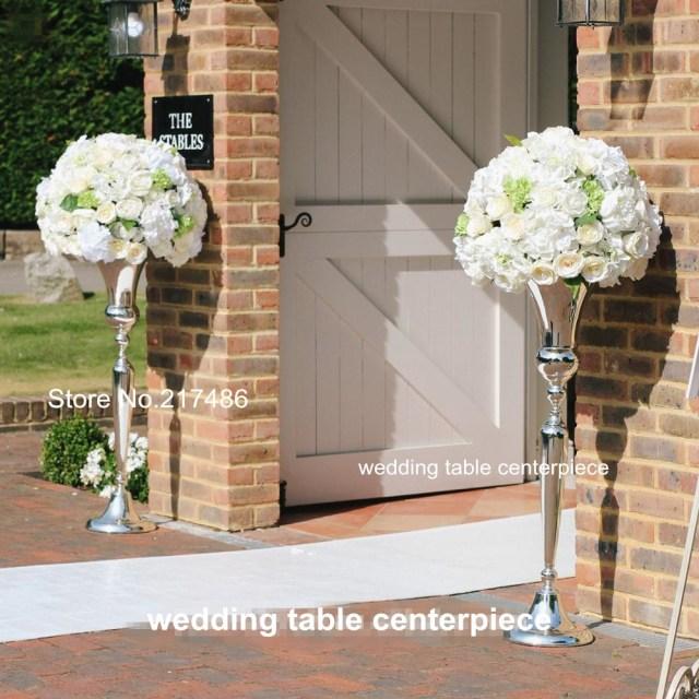 Wedding Aisle Decor New Mental Flower Stand Wedding Aisle Decor For Wedding Stage