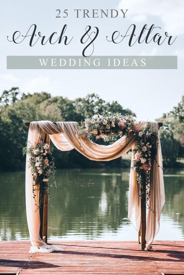 Wedding Alter Decorations 25 Trending Wedding Altar Arch Decoration Ideas