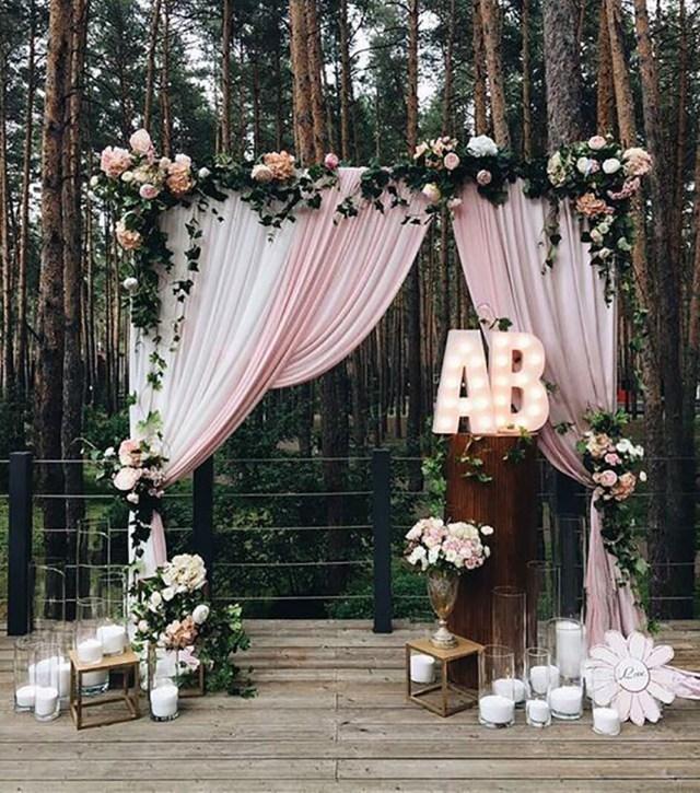 Wedding Alter Decorations 30 Best Floral Wedding Altars Arches Decorating Ideas Stylish