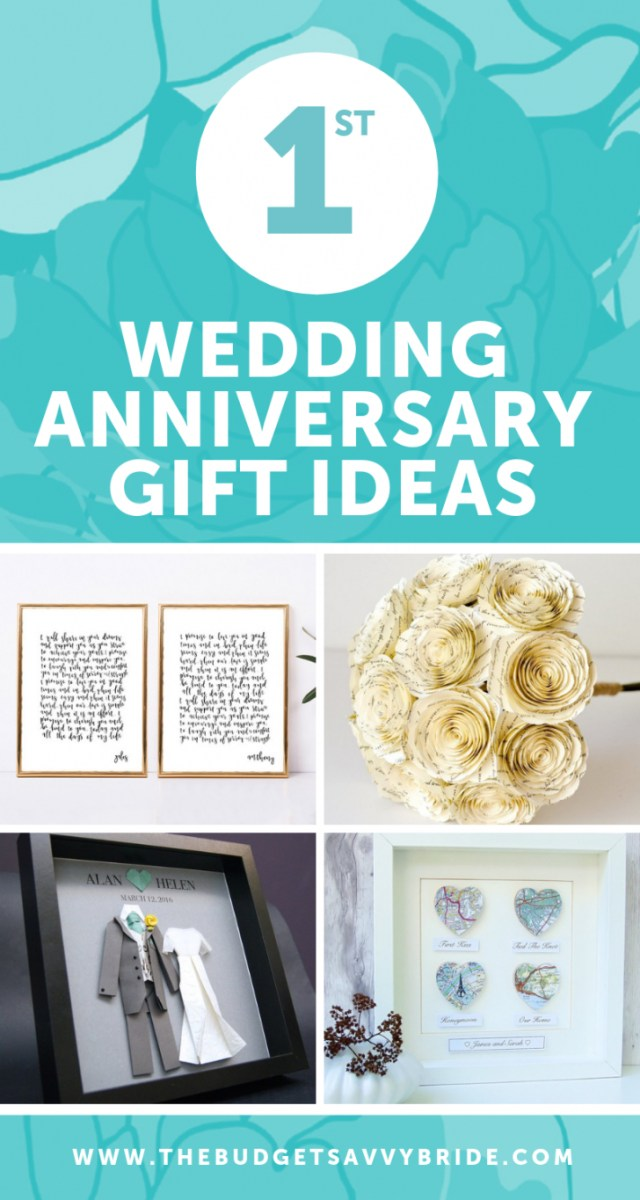Wedding Anniversary Ideas First Wedding Anniversary Gift Ideas Gifts For 1st Wedding Anniversary