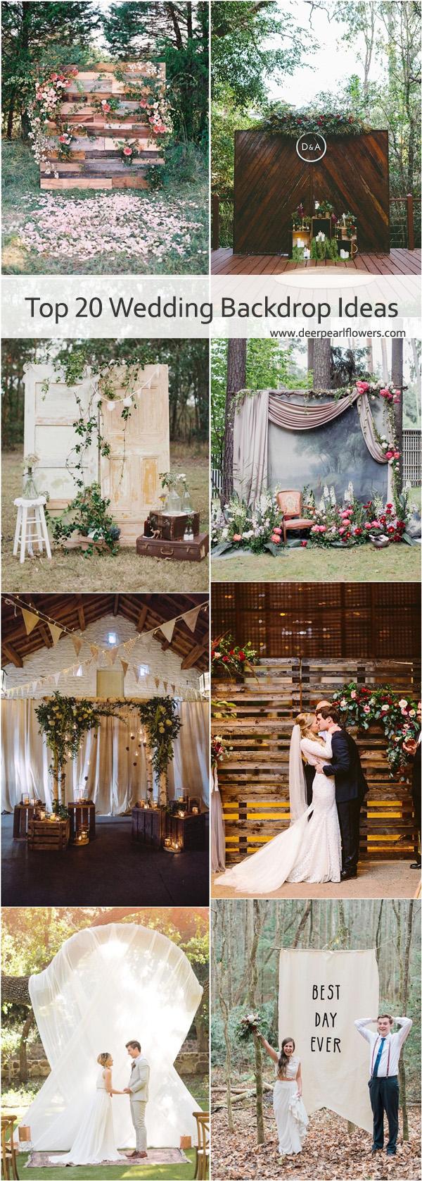 Wedding Backdrop Ideas 20 Best Of Wedding Backdrop Ideas From Pinterest Deer Pearl Flowers