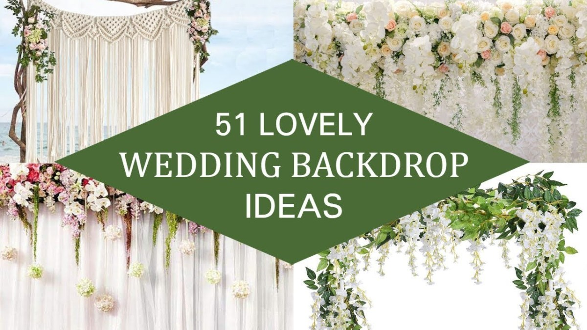 Wedding Backdrop Ideas 51 Lovely Wedding Backdrop Ideas Youtube