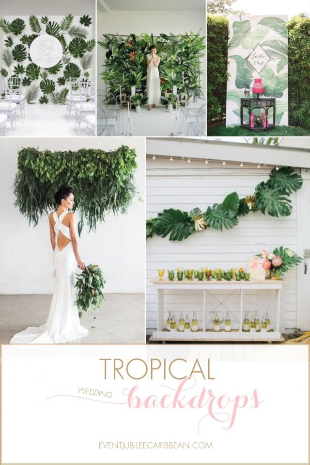 Wedding Backdrop Ideas Tropical Wedding Backdrop Ideas For A Destination Wedding Barbados