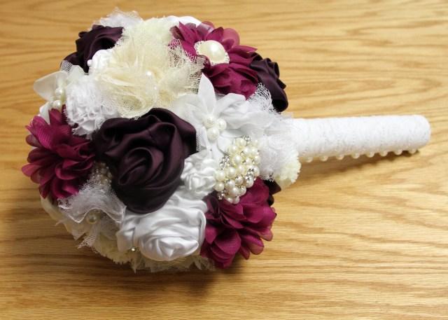 Wedding Bouquets Diy Diy Wedding Bouquet Bridal Tutorial