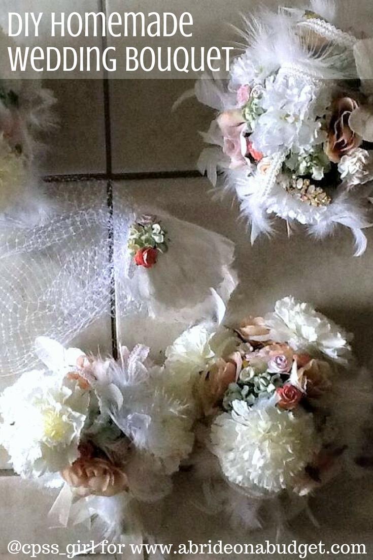 Wedding Bouquets Diy Real Life Wedding Sarahs Diy Homemade Wedding Bouquets A Bride