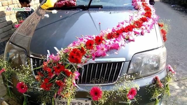 Wedding Car Decorations Ideas Black Wedding Car Decoration Bridal Car Decorations Car