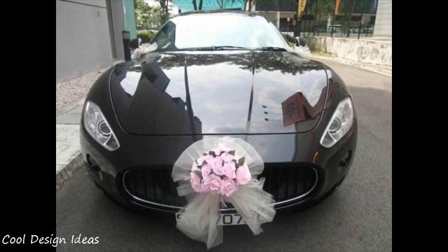Wedding Car Decorations Ideas Wedding Decoration Diy Wedding Car Decoration Ideas Simple Wedding