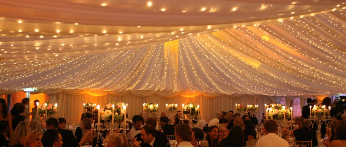 Wedding Ceiling Decorations Fairy Lights Rental Weddings Parties Whiteevents