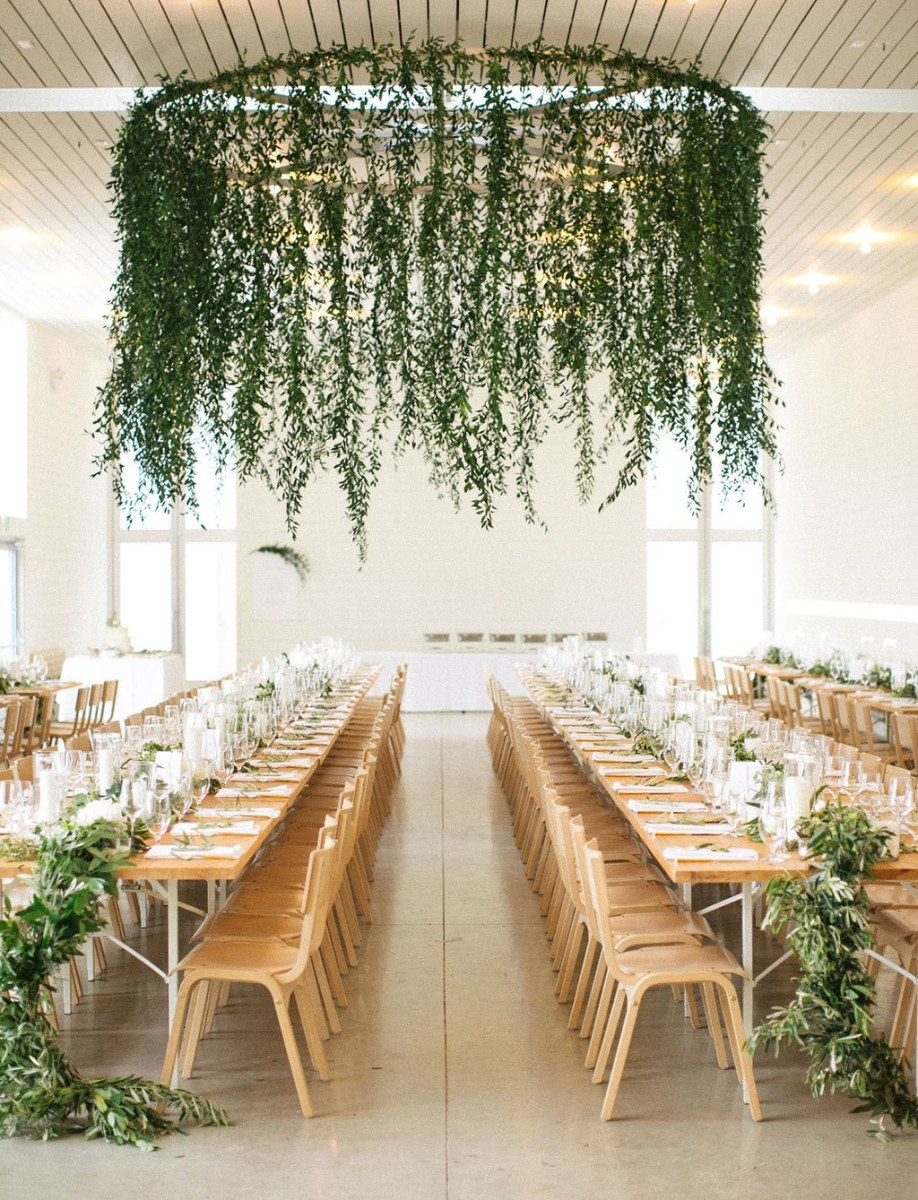 Wedding Ceremony Ideas Decoration 28 Greenery Wedding Decor Ideas That Are Fresh For Spring