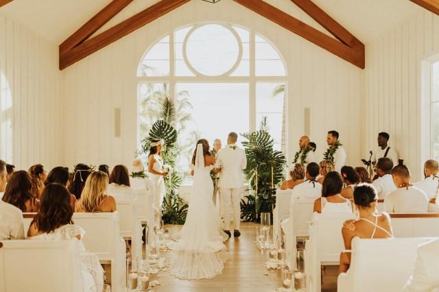 Wedding Chapel Decorations I Do Hawaii Wedding Ceremony Mywhitet
