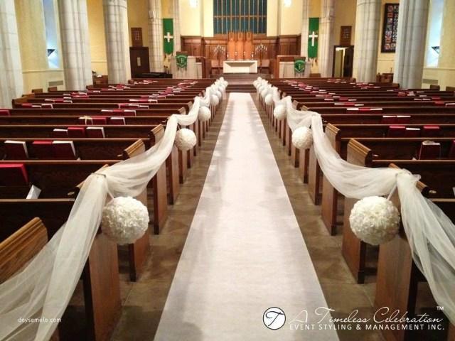 Wedding Chapel Decorations Romantic Wedding Ceremony Decorations Church Of Wedding Decor
