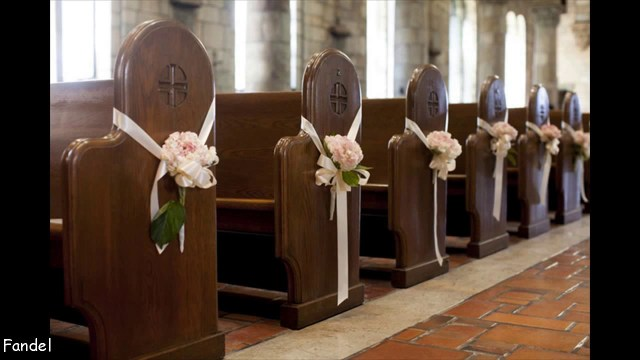 Wedding Chapel Decorations Simple Church Wedding Decorating Ideas Youtube