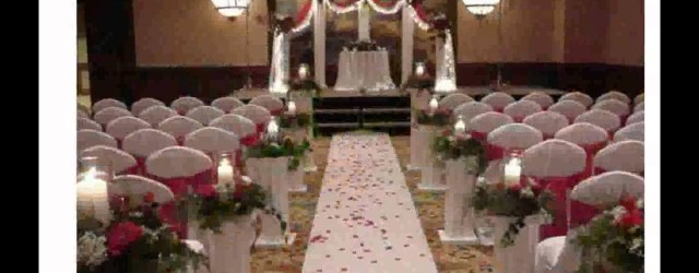 Wedding Chapel Decorations Wedding Decorations For Church Youtube