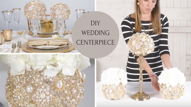 Wedding Decor Diy Ideas Diy Wedding Centerpiece Wedding Decoration Ideas Diy Bling