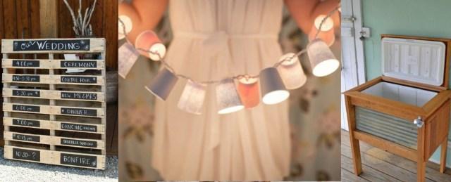 Wedding Decor Diy Ideas The Best Recycled Wedding Decor Diys Rustic Wedding Chic