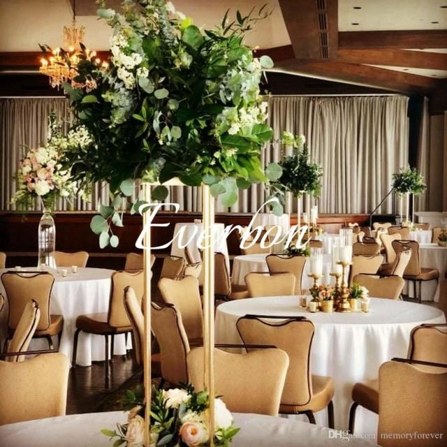 Wedding Decor Floral Wedding Decoration Flower Vase Metal Vases For Artificial Flowers