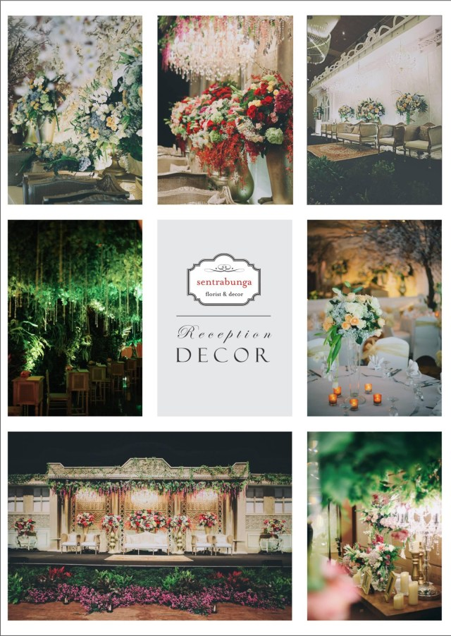 Wedding Decor List Wedding Decor Jakarta Pricing Guide