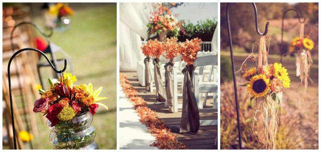 Wedding Decorations For Fall Wedding Decoration Fall Wedding Altar Decorations Wedding Altar